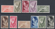 IFNI : 1954  Wildlife set  SG 101-111 mint
