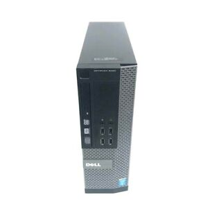 Dell OptiPlex 9020  SFF  Core i7 4770 3.4 GHz  16 GB RAM 512 GB SSD Win 10 Pro