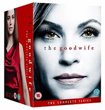 The Good wife. complete season 1 2 3 4 5 6 7. saison 1-7. 42 DVD. NEUF. emballage d'origine