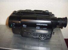 Grundig LC 835 E Video8 Camcorder  XR _8mm Video Camera Recorder zoom 64 digital