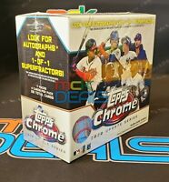 2020 Topps Chrome Update Series Mega Box New Sealed Free Shipping 28 Cards!