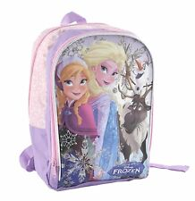Zaino Frozen Disney Originale misure L 24 m x H36 x P10,5 Elsa Anna Olaf e Sven