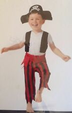 Toddler 2 T - 3 T Costume Happy Pirate, Land Ahead Nwt