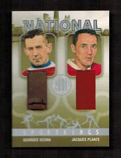 GEORGES VEZINA & JACQUES PLANTE 2008 Sport Kings Sportkings THE NATIONAL