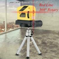 3D Laser Level Self Leveling Point, Line, Cross Horizontal Tripod With Vert D4U5