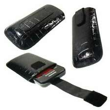 caseroxx Slide-Etui für Samsung GT-S5230 Star in schwarz aus Kunstleder