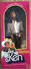 Barbie Western ken Mattel Vintage 80'