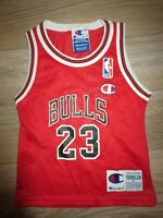 Michael Jordan #23 Chicago Bulls NBA Champion Jersey Baby Toddler 2T