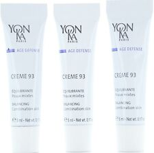YONKA Creme 93 Balancing Cream Sample Size 3 x 5 ml, 15  ml Total