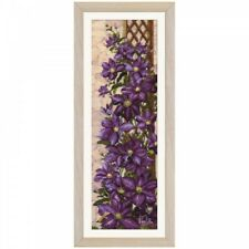 Counted Cross Stitch Kit NOVA SLOBODA - Clematis