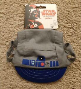 NEW Petco Star Wars Pet Fans Collection R2D2 Pet Hat Size S/M