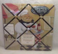 "French Memo Board New View Brunos Bistro, Magnet, Kitchen 12"" (NEW)"