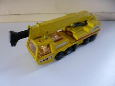 Hercules Mobile Crane - # K-12 - 1974 - Matchbox Lesney - Yellow - England