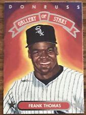 New listing Frank Thomas 1992 Donruss Gallery of Stars Card #12 MLB HOF White Sox Cheap Ship