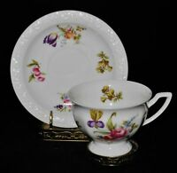 Rosenthal FLOWERS Classic Rose Collection 607016, Cup & Saucer Set