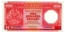 HONG KONG     P-194a       100 Dollars      1986.....      *XF*