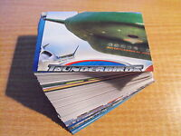 Thunderbirds The Movie Komplettes Basis Karte Set + DCP3