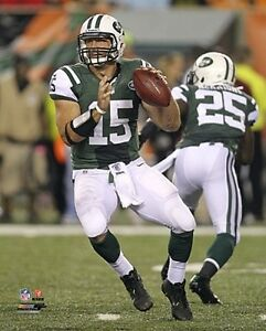 """TIM TEBOW 2012 """"NEW YORK JETS"""" LICENSED unsigned picture poster 8x10 photo"""