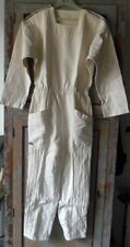 Combinaison blanche typique  années 70 White suit seventies Dub's Made in France