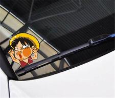 Anime One Piece Monkey·D·Luffy Car Sticker Window Auto Decal Wall