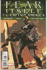 Fear Itself (Captain America) 7.1 : January 2012 : Marvel Comics..