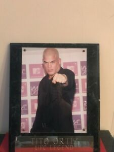 Tito Ortiz Signed Autographed Placard 12x15, Photo 8x11 PSA COA MMA UFC Legend