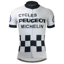 CYCLES Peugeot Michelin ESSO Cycling Jersey cycling Short Sleeve Jersey