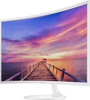 "NEW Samsung 32"" Curved Full HD LCD Monitor Ultra-Slim Eco-Saving Wide Angle HDMI"