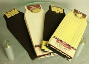 Vintage Bachelor Friend Nylon Stretch Sock 1940's lot Unused Men's Old Stock NOS
