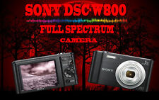 Sony DSC-W800 20.1MP Black Full Spectrum Ghost Hunting Equipment