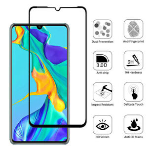 For Huawei V30 Y6S Y9S Nova 7i 20i Full Curved Tempered Glass Screen Protector