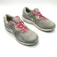 Nike Womens Lunarglide 3 Running Shoes Gray White Low Top Lace Up 454315-017