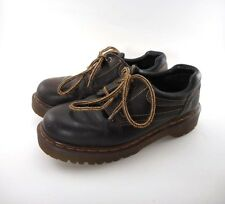 Doc Dr. Martens Shoes 8424 Womens US 7 UK 5 Made In England Brown Leather Oxford