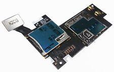 OEM SAMSUNG GALAXY NOTE II 2 i317 SIM Card Tray Holder Reader Slot w Flex Cable
