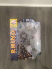 New listing Marvel Select 7'' Rhino Amazing Spider-Man Authentic Diamond Select Toys New