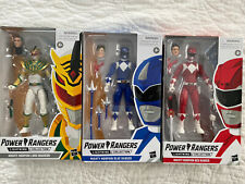 Power Rangers Lightning Collection Lord Drakkon Mighty Morphin Blue & Red Ranger
