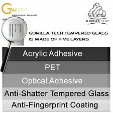 Triple Pack LG G4 Genuine Gorilla Screen Protector Tempered Glass Best Film New