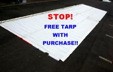 12m x 3m TARP THICK PVC VINYL MULTI-USE EX BILLBOARD SKIN