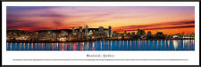 Montreal, Quebec City Skyline Framed Panorama Picture