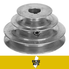 """4 STEP PULLEY #140 1-3//4/"""" 2-1//4/"""" 2-3//4/"""" 3-1//4/"""" X 3//4 BORE KEYWAY 1SS FOR /""""1//2/"""""""