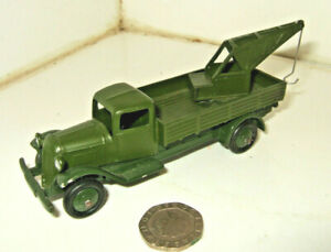 Most Rare Vintage French Dinky No.30e Pre-War Military Breakdown Lorry un-boxed
