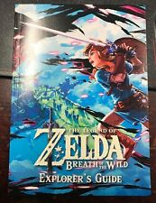 Legend Of Zelda BOTW Explorer's Guide BRAND NEW   SWITCH.  NO GAME
