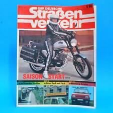 Der Deutsche Straßenverkehr 5/1988 VW Passat Wartburg 353 Klockenhagen Brno G