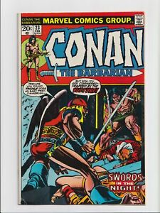 Conan the Barbarian #23 1st Brief Appearance Red Sonja Marvel Comics 1973 FN-