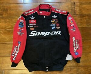 Kevin Harvick #29 Snap On Racing Race Jacket Mens Size Large NASCAR New JH