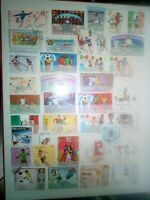 Fussball Briefmarken Timbres Sellos Stamps