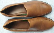 Ecco Brown Leather Loafers ~ Size 41