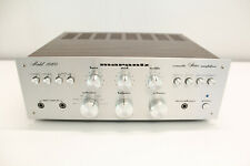 Vintage silver face Marantz 1060 Stereo Integrated Amplifier AWESOME !!!