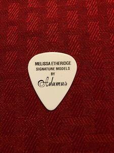 Melissa Etheridge Guitar Pick White Signature Models By Adamas Ovation Guitars