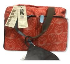 Orla Kiely for Target Orange Geometric Floral Weekend Travel Gym Diaper Bag